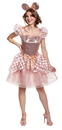 Morris Costumes DG-103099F Rose Gold Minnie Dlx Alt 18-20