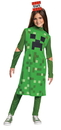 Morris Costumes DG-10484G Creeper Girl Classic Ch 10-12