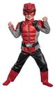Morris Costumes DG-13184M Red Rangr Beast Tod Musc 3T-4T