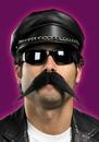 Disguise DG-15027 Moustache Biker