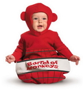 Disguise DG-16817I Barrel Of Monkeys 0-6 Mths