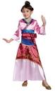 Morris Costumes DG-21398K Mulan Deluxe Child 7-8