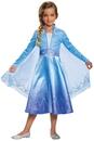 Morris Costumes DG-22892K Elsa Deluxe Child 4-6