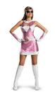 Disguise DG-25946E Sassy Pink Ranger 12-14