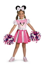 Disguise 26896L Minnie Mouse Cheerleader 4-6