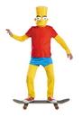 Disguise 34548K Bart Simpson Deluxe 7-8