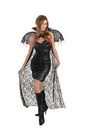 Disguise DG-3843 Cape Red/Black Lace W Wings