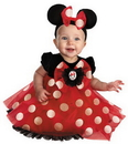 Disguise 44958W Minnie Infant Red 12-18 Months