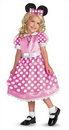 Disguise DG-50105S Clubhouse Minnie Pink Sm 2T