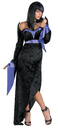 Disguise DG-527 Gorgeous Goth Adult Costume
