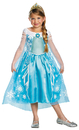 Disguise DG-56998L Frozen Elsa Child Deluxe 4-6