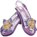 Morris Costumes DG59301 Rapunzel Sparkle Shoes - Child<br>