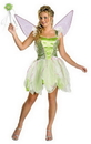 Disguise 6550T Tinker Bell Deluxe Jr. 7-9