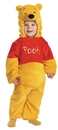Disguise DG-6579M Pooh Deluxe Plush 3T-4T