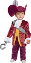 Disguise DG-66062W Captain Hook Classic Tod 12-18