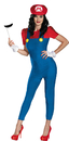 Disguise DG-73750B Mario Female Deluxe Adult 8-10