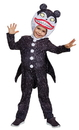 Morris Costumes DG-79571L Scary Teddy Classic Child 4-6