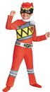 Disguise DG-82734M Red Ranger Dino Classic 3T-4T