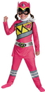 Disguise DG-82737L Pink Ranger Dino Classic 4-6