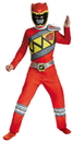 Disguise DG-82757K Red Ranger Dino Classic 7-8