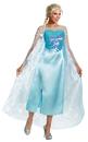 Disguise DG-82832N Frozen Elsa Adult Deluxe 4-6