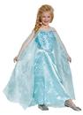 Morris Costumes DG-83189L Elsa Prestige Child 4-6
