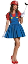Disguise DG-85176B Mario Skirt Adult 8-10