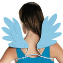 Disguise DG-85536 Rainbow Dash Adult Wings