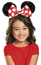 Disguise DG-85591 Minnie Red Child Sequin Ears