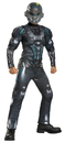 Morris Costumes DG-97537G Spartan Locke Muscle Ch 10-12