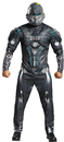 Morris Costumes DG-97555D Spartan Locke Muscle Ad 42-46