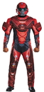 Morris Costumes DG-97558D Red Spartan Muscle Adult 42-46
