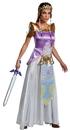 Morris Costumes DG-98796B Zelda Deluxe Adult 8-10