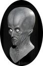 Morris Costumes DU-6010 Creeton Resurrection Mask