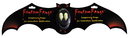 Morris Costumes EA-902 Fantom Fangs Bat Carded