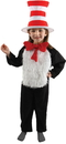 Elope EL-43301 Cat In The Hat Childs 4-6