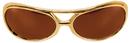Elope S54401 Glasses Rock&Roller Gold Brown