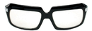 Elope S72701 Glasses 80'S Scratcher Blk Clr