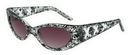 Elope S73901 Glasses Sexy Librarian Bk Wt