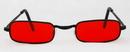 Elope S82601 Glasses Vampire Blk Red