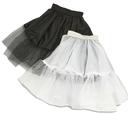 Funny Fashion FF-508047B Petticoat Black Adult 21 Inch