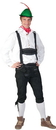 Funny Fashion FF-601164LG Tyrolean Shirt Adult Lg