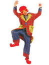 Funny Fashions 760635 Plaid Pickles Adult Clown