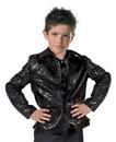 Funny Fashion FF-782729 Disco Jacket Child Black Large