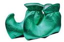 Forum Novelties FM-51489 Elf Shoes Cloth Green
