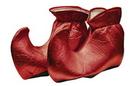 Forum Novelties FM-51490 Elf Shoes Cloth Red