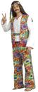 Forum Novelties FM-53829 Hippie Man Adult Costume Plus