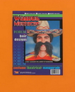 Forum Novelties FM-54869BK Walrus Mustache Black