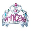 Forum Novelties FM-57460 Tiara Princess Silver/Pink Ch