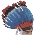 Forum Novelties FM-57571 Headdress Deluxe Native Americ
